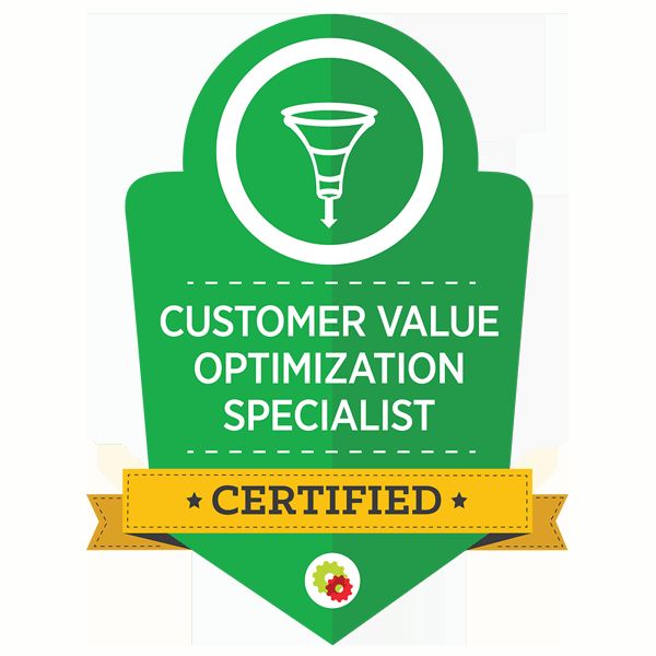 Certified Customer Value Optimisation Specialist